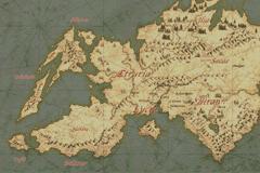 Carte du monde Fire Emblem Blazing Sword